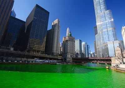 Celebrating St. Patrick's Day by the Water